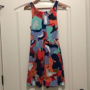 Anthropologie Watercolor Dress